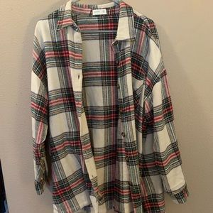 BNWOT Maurices Flannel!
